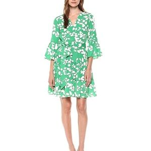 Eliza J Bell Sleeve Wrap Dress